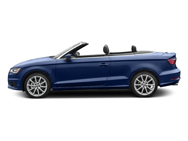 Scuba Blue Metallic/Black Roof 2016 Audi A3 Pictures A3 Conv 2D 2.0T Premium Plus S-Line AWD photos side view