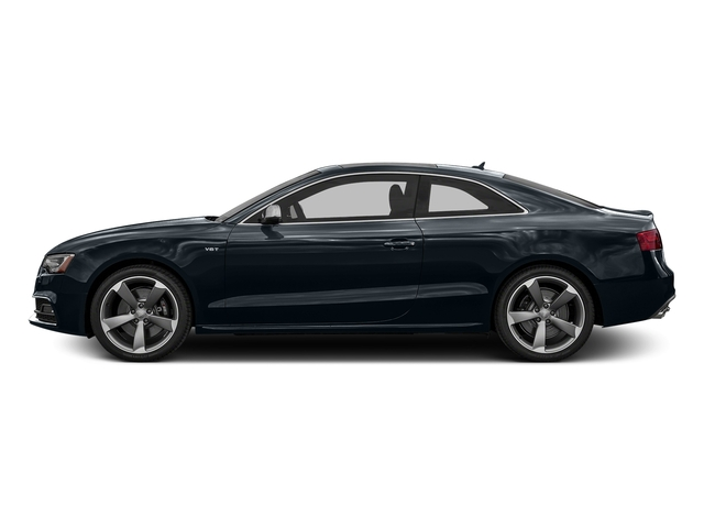 Moonlight Blue Metallic 2016 Audi S5 Pictures S5 Coupe 2D S5 Prestige AWD photos side view