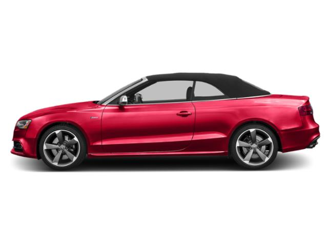 Misano Red Pearl Effect/Black Roof 2016 Audi S5 Pictures S5 Convertible 2D S5 Premium Plus AWD photos side view