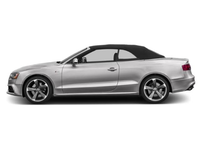 Florett Silver Metallic/Black Roof 2016 Audi S5 Pictures S5 Convertible 2D S5 Premium Plus AWD photos side view