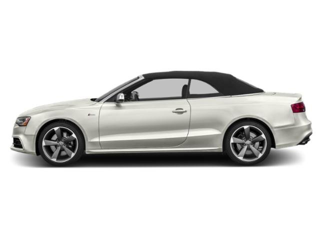 Ibis White/Black Roof 2016 Audi S5 Pictures S5 Convertible 2D S5 Premium Plus AWD photos side view