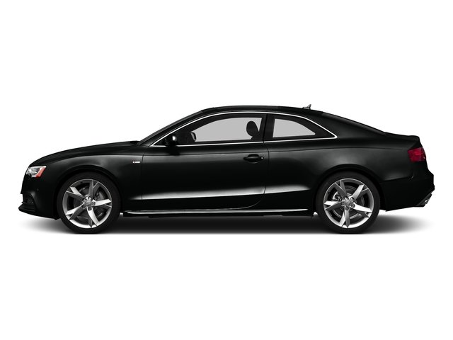Mythos Black Metallic 2016 Audi A5 Pictures A5 Coupe 2D Premium Plus AWD photos side view