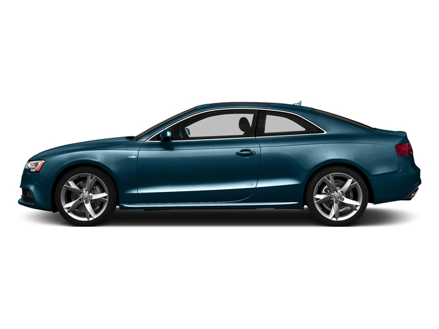 Utopia Blue Metallic 2016 Audi A5 Pictures A5 Coupe 2D Premium Plus AWD photos side view