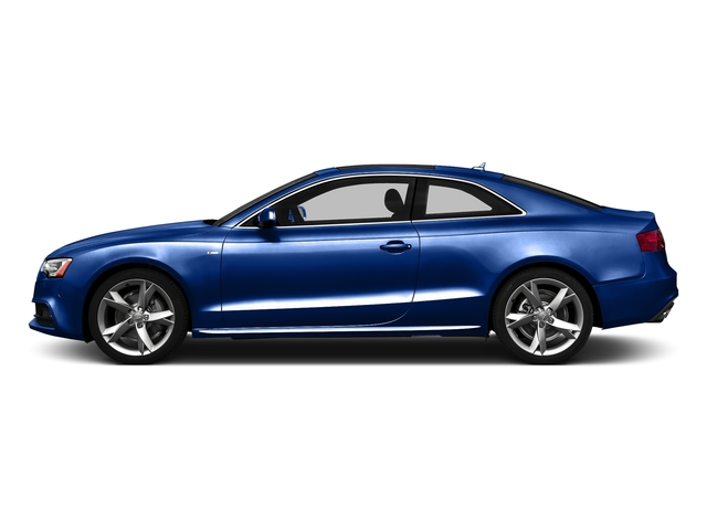 Sepang Blue Pearl Effect 2016 Audi A5 Pictures A5 Coupe 2D Premium Plus AWD photos side view