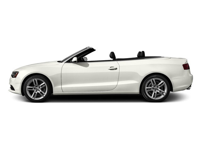 Ibis White/Red Roof 2016 Audi A5 Pictures A5 Convertible 2D Premium Plus AWD photos side view
