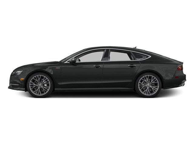Mythos Black Metallic 2016 Audi A7 Pictures A7 Sedan 4D 3.0T Prestige AWD photos side view