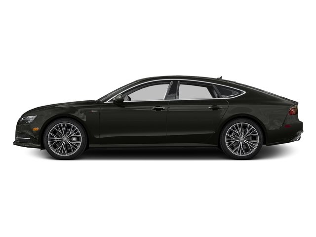 Havanna Black Metallic 2016 Audi A7 Pictures A7 Sedan 4D 3.0T Prestige AWD photos side view