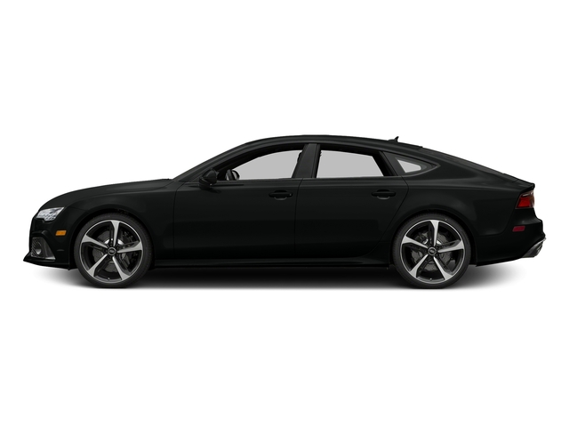 Mythos Black Metallic 2016 Audi RS 7 Pictures RS 7 Sedan 4D Prestige AWD photos side view