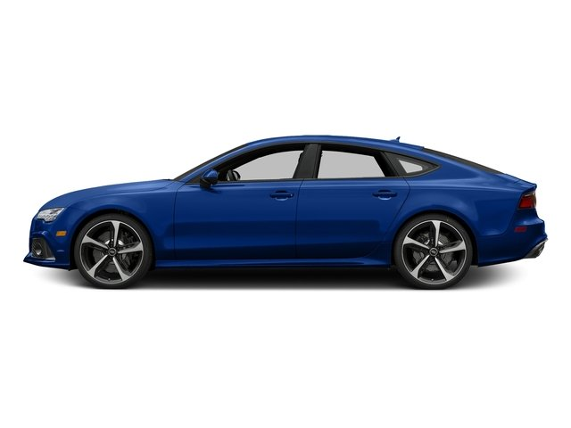 Sepang Blue Pearl Effect 2016 Audi RS 7 Pictures RS 7 Sedan 4D Prestige AWD photos side view
