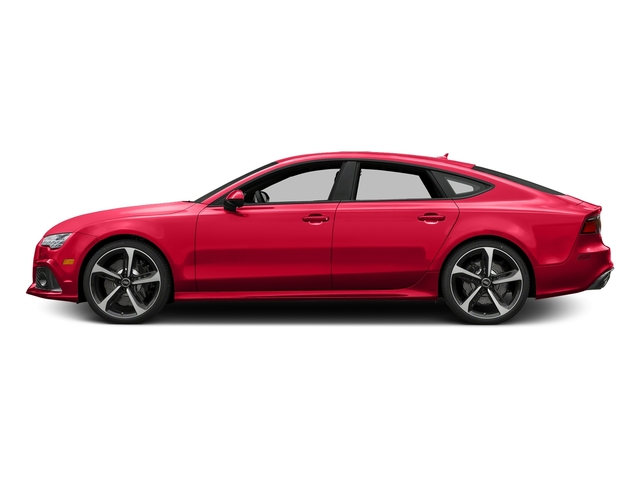 Misano Red Pearl Effect 2016 Audi RS 7 Pictures RS 7 Sedan 4D Prestige AWD photos side view