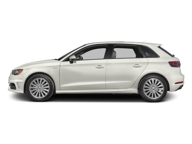 Ibis White 2016 Audi A3 e-tron Pictures A3 e-tron Hatchback 5D E-tron Prestige photos side view