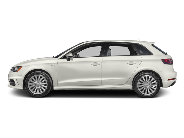 Ibis White 2016 Audi A3 e-tron Pictures A3 e-tron Hatchback 5D E-tron Premium photos side view