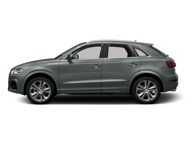 Monsoon Gray Metallic 2016 Audi Q3 Pictures Q3 Utility 4D 2.0T Premium Plus 2WD photos side view