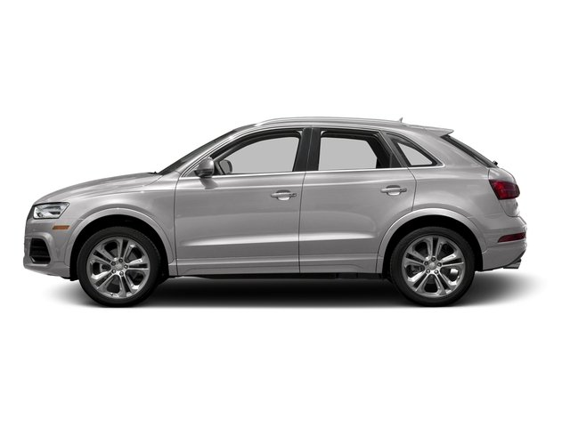 Cuvee Silver Metallic 2016 Audi Q3 Pictures Q3 Utility 4D 2.0T Prestige 2WD photos side view