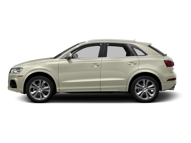 Glacier White Metallic 2016 Audi Q3 Pictures Q3 Utility 4D 2.0T Premium Plus 2WD photos side view