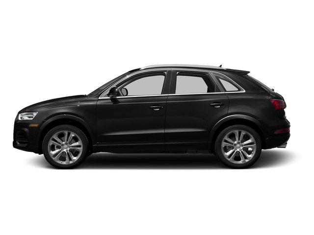 Brilliant Black 2016 Audi Q3 Pictures Q3 Utility 4D 2.0T Prestige 2WD photos side view