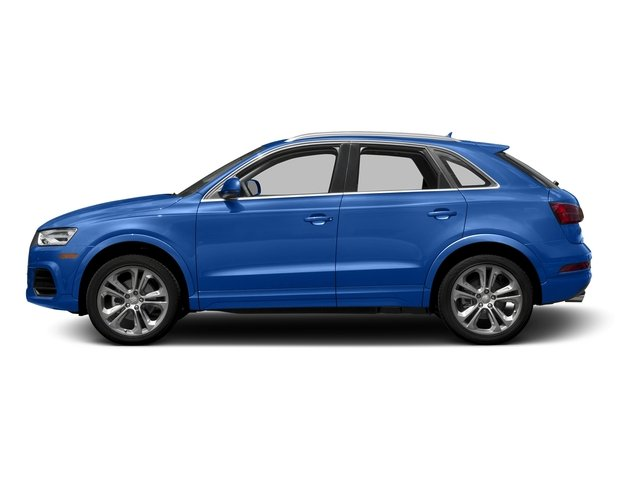 Hainan Blue Metallic 2016 Audi Q3 Pictures Q3 Utility 4D 2.0T Prestige 2WD photos side view