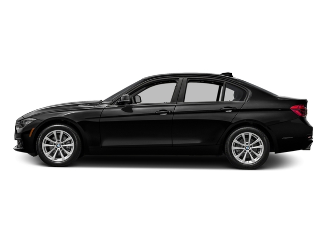 Jet Black 2016 BMW 3 Series Pictures 3 Series Sedan 4D 320xi AWD I4 Turbo photos side view