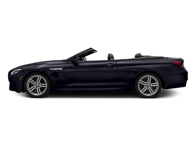 Carbon Black Metallic 2016 BMW 6 Series Pictures 6 Series Convertible 2D 640xi AWD I6 photos side view