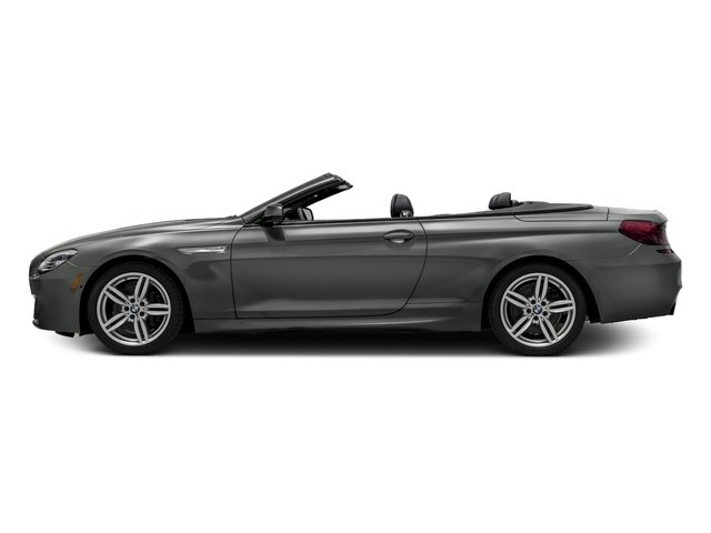 Space Gray Metallic 2016 BMW 6 Series Pictures 6 Series Convertible 2D 640xi AWD I6 photos side view