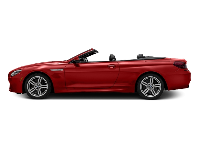 Melbourne Red Metallic 2016 BMW 6 Series Pictures 6 Series Convertible 2D 640xi AWD I6 photos side view