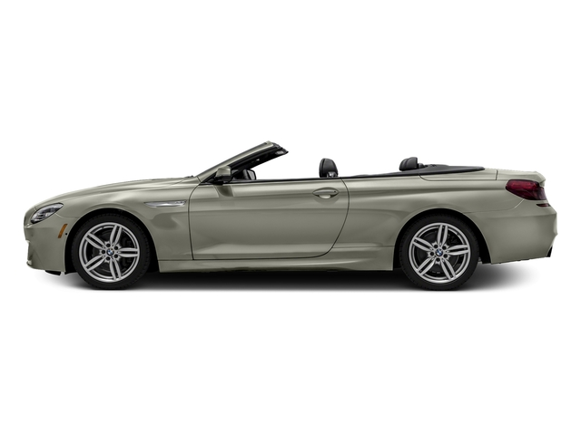 Moonstone Metallic 2016 BMW 6 Series Pictures 6 Series Convertible 2D 640xi AWD I6 photos side view
