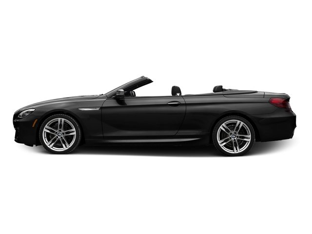 Jet Black 2016 BMW 6 Series Pictures 6 Series Convertible 2D 650xi AWD V8 photos side view
