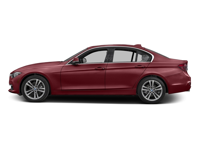 Melbourne Red Metallic 2016 BMW 3 Series Pictures 3 Series Sedan 4D 328d I4 T-Diesel photos side view