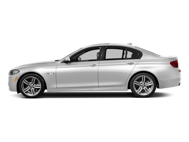 Mineral White Metallic 2016 BMW 5 Series Pictures 5 Series Sedan 4D 535d I6 T-Diesel photos side view