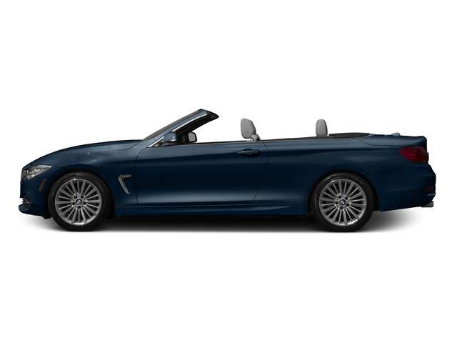 Midnight Blue Metallic 2016 BMW 4 Series Pictures 4 Series Convertible 2D 428xi AWD I4 Turbo photos side view