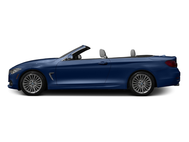 Estoril Blue Metallic 2016 BMW 4 Series Pictures 4 Series Convertible 2D 428xi AWD I4 Turbo photos side view