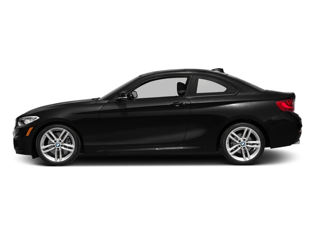 Black Sapphire Metallic 2016 BMW 2 Series Pictures 2 Series Coupe 2D 228i I4 Turbo photos side view