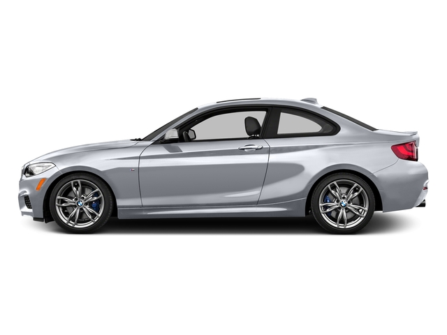 Glacier Silver Metallic 2016 BMW 2 Series Pictures 2 Series Coupe 2D M235i I6 Turbo photos side view