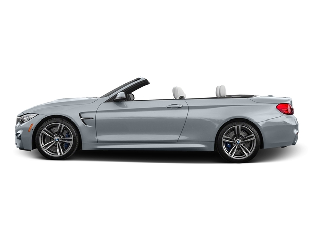 Silverstone Metallic 2016 BMW M4 Pictures M4 Convertible 2D M4 I6 Turbo photos side view