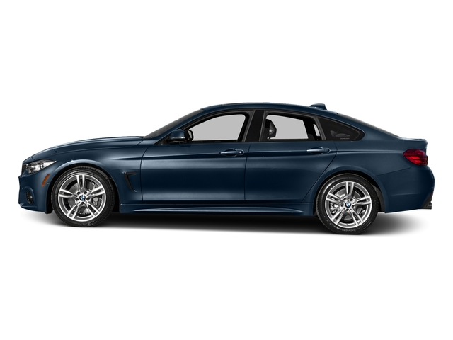 Midnight Blue Metallic 2016 BMW 4 Series Pictures 4 Series Sedan 4D 435i I6 Turbo photos side view