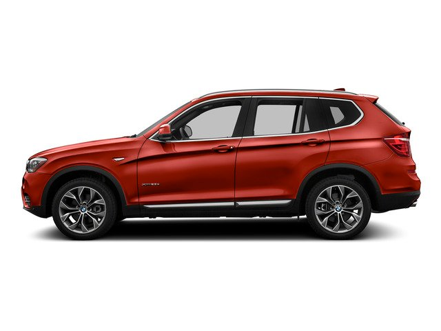 Melbourne Red Metallic 2016 BMW X3 Pictures X3 Utility 4D 28i AWD I4 Turbo photos side view