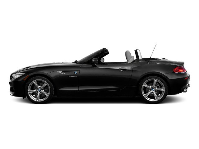 Black Sapphire Metallic 2016 BMW Z4 Pictures Z4 Roadster 2D Z4 35is I6 photos side view