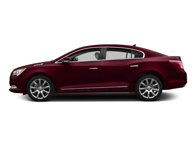 Deep Garnet Metallic 2016 Buick LaCrosse Pictures LaCrosse Sedan 4D Leather AWD V6 photos side view