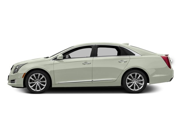 Crystal White Tricoat 2016 Cadillac XTS Pictures XTS Sedan 4D Luxury AWD V6 photos side view