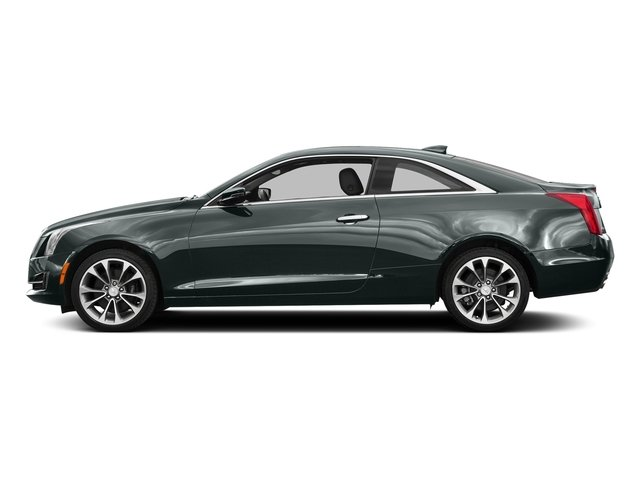 Phantom Gray Metallic 2016 Cadillac ATS Coupe Pictures ATS Coupe 2D Luxury AWD I4 Turbo photos side view