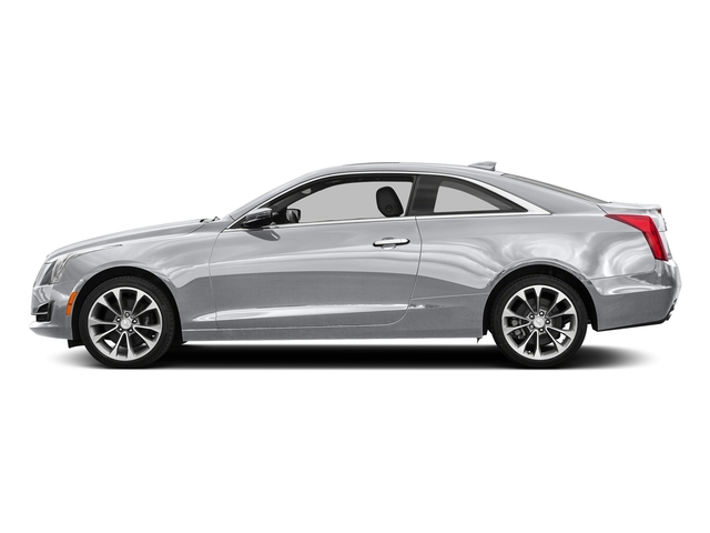 Radiant Silver Metallic 2016 Cadillac ATS Coupe Pictures ATS Coupe 2D Luxury AWD I4 Turbo photos side view