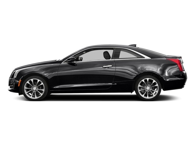 Stellar Black Metallic 2016 Cadillac ATS Coupe Pictures ATS Coupe 2D Luxury AWD I4 Turbo photos side view