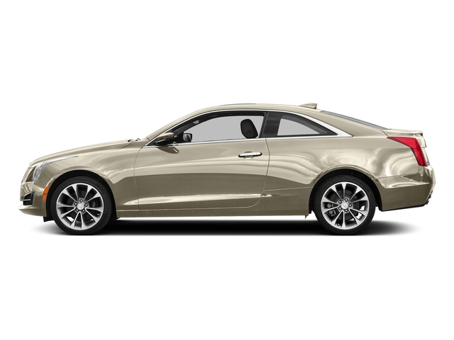 Silver Coast Metallic 2016 Cadillac ATS Coupe Pictures ATS Coupe 2D Luxury AWD I4 Turbo photos side view