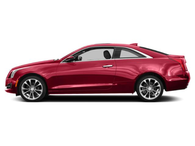 Velocity Red 2016 Cadillac ATS Coupe Pictures ATS Coupe 2D Luxury AWD I4 Turbo photos side view