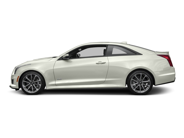 Crystal White Tricoat 2016 Cadillac ATS-V Coupe Pictures ATS-V Coupe 2D V-Series V6 Turbo photos side view