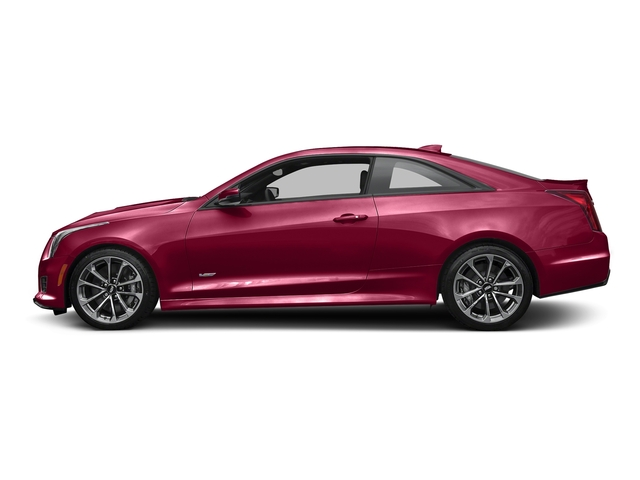 Red Obsession Tintcoat 2016 Cadillac ATS-V Coupe Pictures ATS-V Coupe 2D V-Series V6 Turbo photos side view