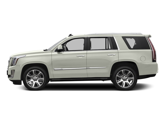 Crystal White Tricoat 2016 Cadillac Escalade Pictures Escalade Utility 4D Premium 4WD V8 photos side view