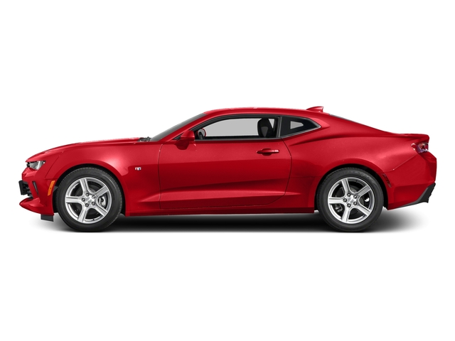 Red Hot 2016 Chevrolet Camaro Pictures Camaro Coupe 2D 2LT V6 photos side view