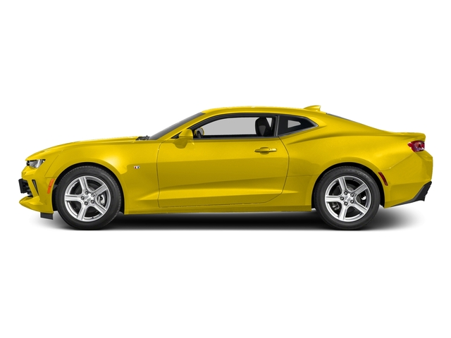 Bright Yellow 2016 Chevrolet Camaro Pictures Camaro Coupe 2D 2LT V6 photos side view
