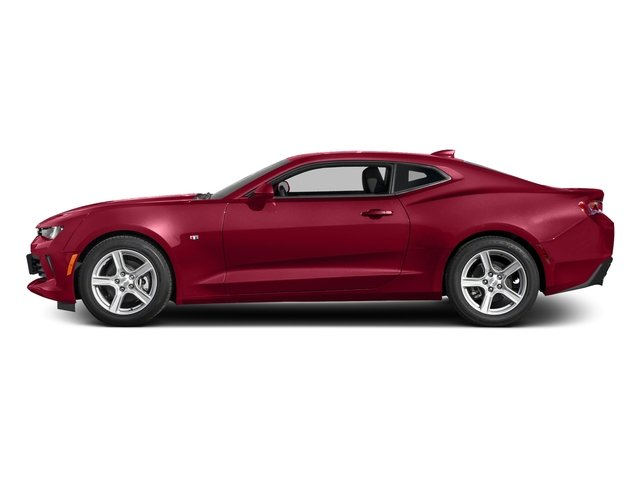 Garnet Red Tintcoat 2016 Chevrolet Camaro Pictures Camaro Coupe 2D 2LT V6 photos side view